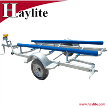 Jet Ski Aluminium boat trailer parts with galvanized frame
